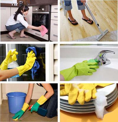 نکات ریز تمیز کردن و برق انداختن آشپزخانه