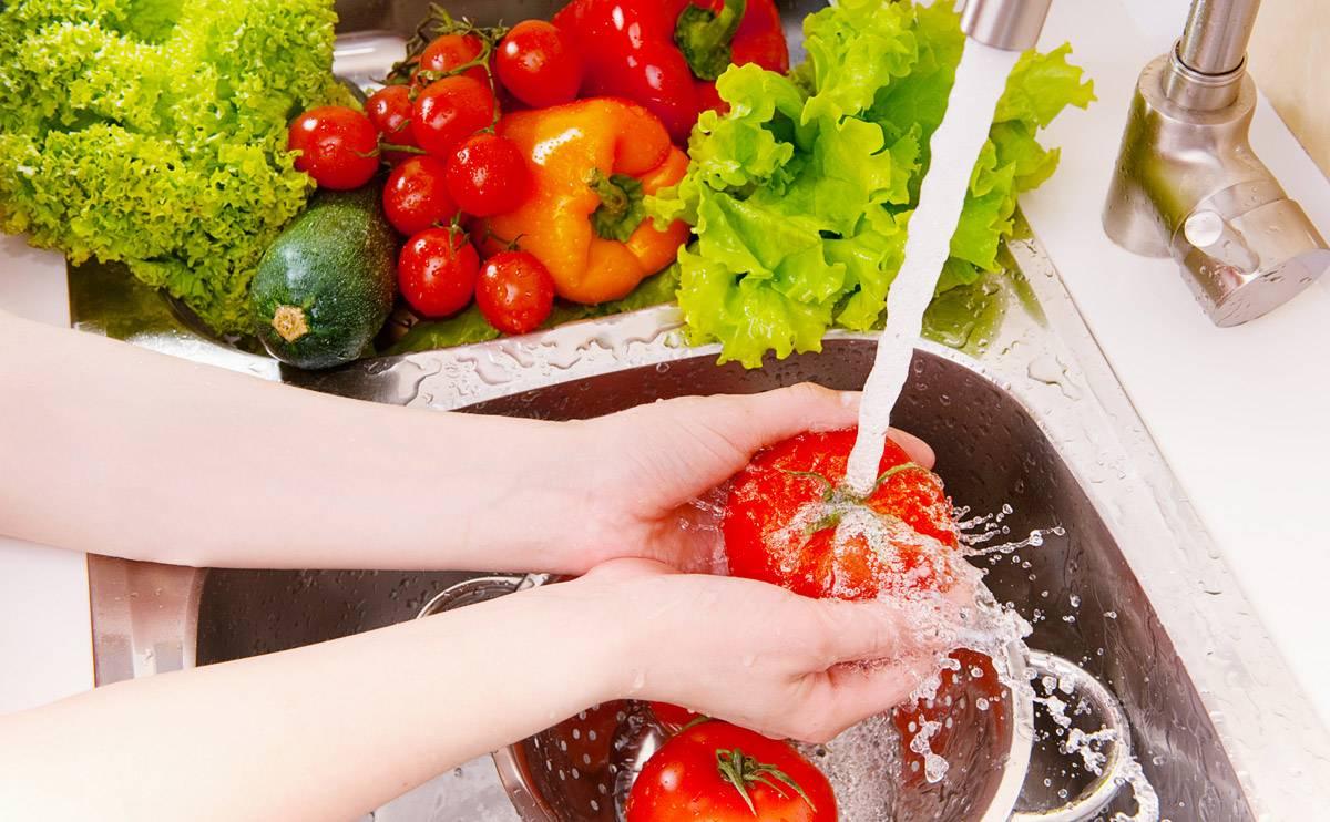 روش ضدعفونی کردن سبزیجات