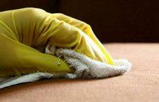 پاک کردن چسب ۱۲۳ از روی دست و سطوح