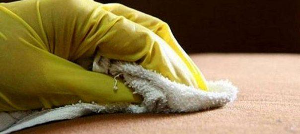 پاک کردن چسب 123 از روی دست و سطوح